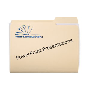 Your Money Story PowerPoint Presentations Icon