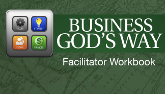 Business God's Way Small Group Study Cover